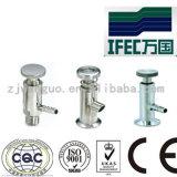 De sanitaire Klep van de Steekproef van het Roestvrij staal (ifec-SV100012)