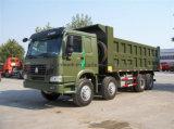 Tipo de condução caminhão de Sinotruk 8X4 de descarga