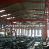 Полуфабрикат светлое здание стальной структуры для мастерской/пакгауза (DG2-018)