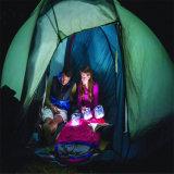 Lanterna inflável solar elevada de Efficency, lanterna de acampamento, lâmpada de caminhada solar