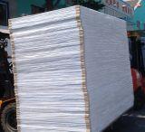 Scheda libera della gomma piuma della superficie di bianco solido del PVC