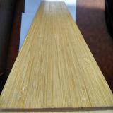 Laque UV de plancher en bambou solide vertical normal lisse