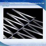 Facciata fatta della rete metallica di spirale dell'acciaio inossidabile