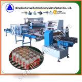 Machine à emballer collective de rétrécissement de bouteilles