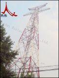 送電ラインタワー角度の鋼鉄タワーおよび管状タワー