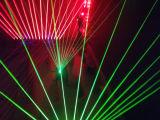 RGB sondern der 8 Augen-Regen-Effekt-Laserdiode für Disco-Licht aus
