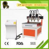 Pubblicità di mini macchina del router di CNC del metallo