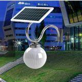 Luz al aire libre solar del LED con el panel del monocristal