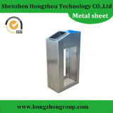 Components meccanico Sheet Metal Fabrication con Mirror Chrome Plated