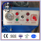 油圧ホースひだが付く機械Techmaflex 2のインチP32のホースのひだ付け装置