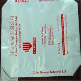 Sacco di carta impermeabile per cemento/fertilizzante/prodotti chimici