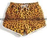 Striscia/di colore usura asciutta solida della spiaggia rapidamente, Shorts della scheda per le donne/signora