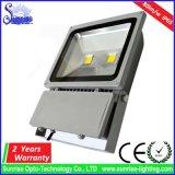 屋外の高い発電ランプIP65 100W LEDのフラッドライトの据え付け品