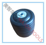 rotella anteriore nera del carrello di golf del pneumatico della gomma piuma dell'unità di elaborazione 110X100