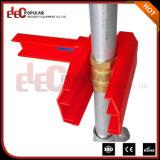 Ep-8211 en color rojo ajustable de la bola de la válvula de bloqueo