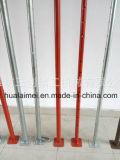 외부 관이 고품질 Q235 강철 비계 지원에 의하여 48mm 직류 전기를 통했다