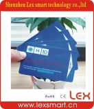 Carte en plastique estampée de PVC de couleur d'adhésion d'escompte de 13.56MHz 1024bit