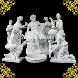 De hand sneed het Marmeren Beeldhouwwerk van de Hoogste Kwaliteit