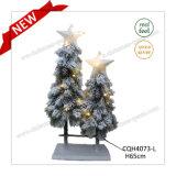 Decoração artificial da árvore de Natal do pinho nevado do Pre-Lit de H65cm