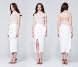 La hors fonction-Le-Épaule sans manche Backless sexy de type d'été neuf de mode complète la chemise des femmes Chiffon