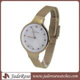 女性のための最も新しく、スマートなステンレス鋼の腕時計