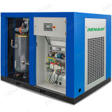 Compresseur d'air rotatoire à haute pression stationnaire industriel de vis