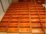 Vanità di legno della mobilia del Governo di stanza da bagno con il bacino di ceramica