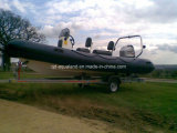 Aqualand 19feet 5.7m Rigid Inflatable Fishing Boat /Rib Motor Boat (RIB570B)
