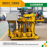 Beweglicher Typ Qt40-3A Block-Hersteller-Maschine Dongyue