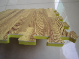 Qualität EVA-Schaumgummi-blockierenfliese-hölzerne Beschaffenheit EVA-Matte