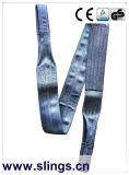 Imbracatura di sollevamento della tessitura del poliestere resistente diplomata GS del Ce
