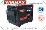 Generador diesel silencioso refrescado el mejor aire 5kVA del precio 188fbg de la fuente de la fábrica del OEM de Yarmax