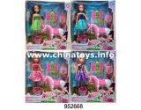 Jouets en plastique pour la poupée commune solide de Winx de fille (952665)