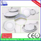 Epistar Chip 15W Round Recessed LED Panel Ceiling Light
