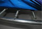 Alto trampolín comercial de gran tamaño de salto de la aptitud gimnástica con el hueco de la espuma para ambos niños