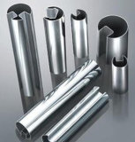 Tubo de la ranura del acero inoxidable ASTM-A554 304 316 para el vidrio