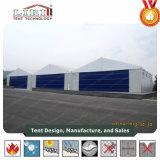 Tienda blanca 30 los x 30m del hangar de los aviones del PVC/del hangar del aeroplano para el ejército militar