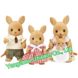 EN71 아기 선물 연약한 박제 동물 캥거루 견면 벨벳 장난감