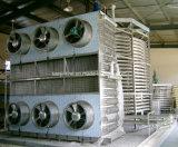 Congelador espiral dobro/máquina congelação rápida de Industrail para peixes