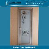 Porte en aluminium de tissu pour rideaux de miroir de fleur de bâti rouge bon marché de décoration