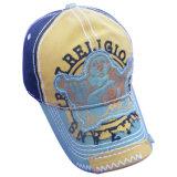 La venta caliente lavó la gorra de béisbol con insignia de la mirada de Grunge