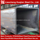 200X50X8mm rechteckiger Stahlrohr-Gebrauch für Maschinen-Herstellung