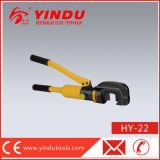 herramienta de corte hidráulica de la barra de acero de 12t 22m m (HY-22)