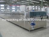 Máquina refrigerando da pulverização do frasco para o suco de enchimento quente