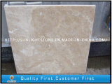 Natürlicher beige Marmorsteintravertin für Badezimmer-Fußboden-/Wand-Fliesen