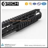 15 держатель Handguard рельса ткача Keymod Ar15 Picatinny дюйма черный с стальными разделами гайки бочонка/рельса шлицев /3 PCS 13/напольным вспомогательным оборудованием Ar15&M16 20mm звероловства