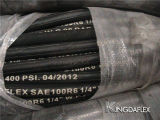 Boyau en caoutchouc hydraulique à haute pression (SAE 100 R3)