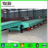 Axle 3 трейлер тела 60 тонн низкий