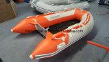 barco inflável do esporte do barco de enfileiramento do barco de 3m Hypalon com os assoalhos opcionais com CERT do Ce. para a venda