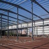 低価格の熱い販売の鉄骨構造の産業小屋の構築